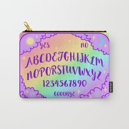 Purple and Rainbow Spirit Board Carry-All Pouch