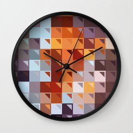 Sophistication of Color Wall Clock