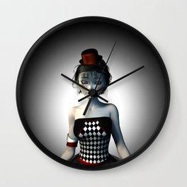 Leaving the circus Wall Clock
