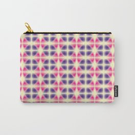 violet and pink fragments Carry-All Pouch