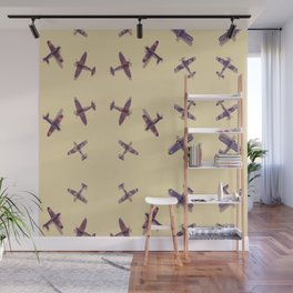 Toys#plane#1942#yellow Wall Mural