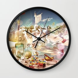 Lifestyle Wall Clock