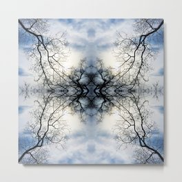 Pattern 33 = Tree Branches Metal Print
