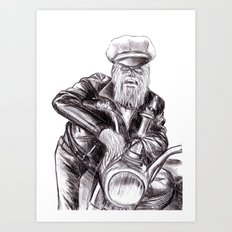 wookie wild one Art Print
