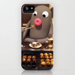 Lars loves  Takoyaki! iPhone Case