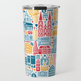 Cologne City Map Poster Travel Mug
