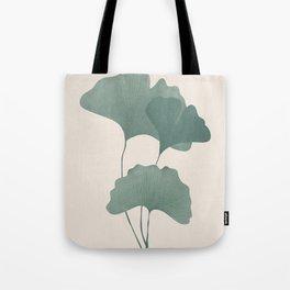 Ginko Leaves Tote Bag