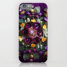 May Flowers Mandala iPhone Case
