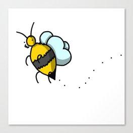 Buzzy Bee | Veronica Nagorny Canvas Print