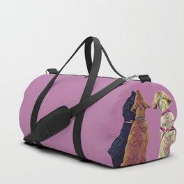 Three Amigos I in pink Duffle Bag