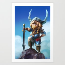 Viking Pride Art Print