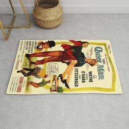 Vintage poster - The Quiet Man Rug