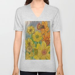 Daffies Unisex V-Neck