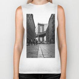 Manhattan Bridge Dumbo Brooklyn Biker Tank
