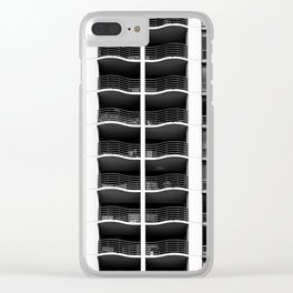 Feelin Wavy Baby Clear iPhone Case