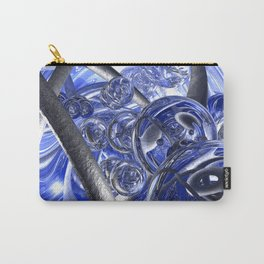Macro Glass And Steel Bands Carry-All Pouch