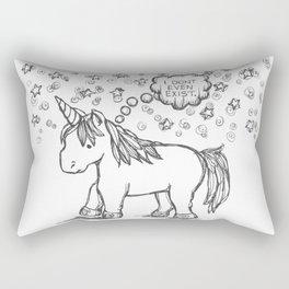 existential uni... Rectangular Pillow