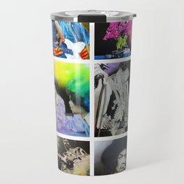 'Jimi Collage' Travel Mug