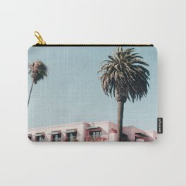 Pink Building Downtown Santa Monica California Carry-All Pouch