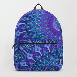 Lights of Avatar Mandala Art Backpack