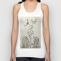under the sea Tank Tops featuring Under The Sea Sketch by ANoelleJay