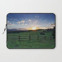 Foothills Sunset Laptop Sleeve