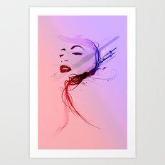 Headflux Art Print