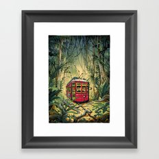 Jungle Tram Framed Art Print