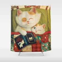The cozy moment Shower Curtain