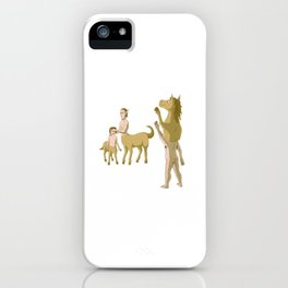 Nobody Likes Reverse Centaur iPhone Case