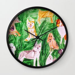 Dogs! Wall Clock