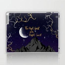 night court (High Lord) Laptop & iPad Skin