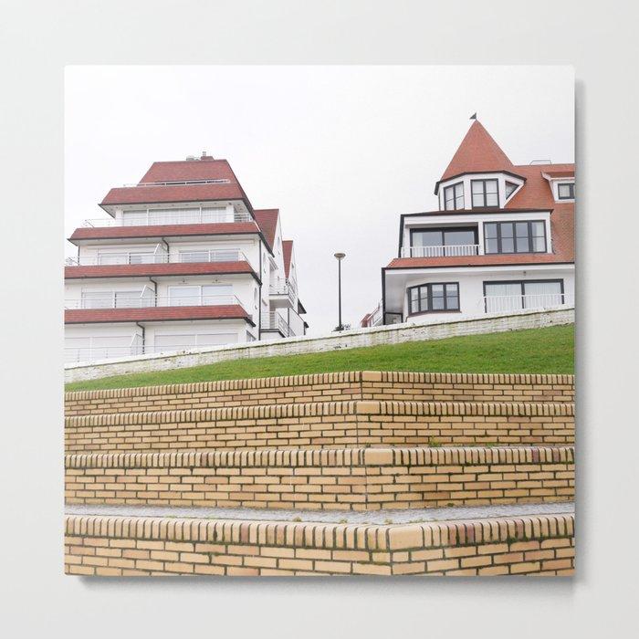 Beauty houses Metal Print