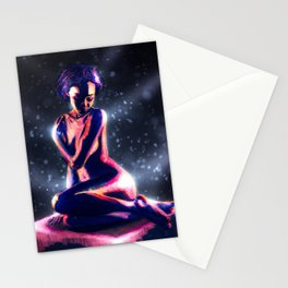 Objectified In Neon Stationery Cards