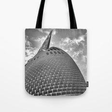 Swan Bell Tower Tote Bag
