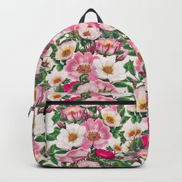Wild roses II Backpack