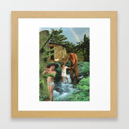 NATURE CURE Framed Art Print