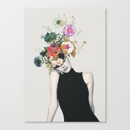Floral beauty Canvas Print