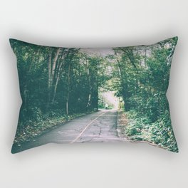 River Valley Path Rectangular Pillow