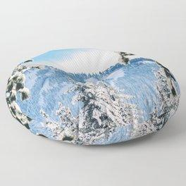 Peer Into Wonderland Floor Pillow