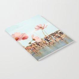 Vintage Flower Beach Notebook