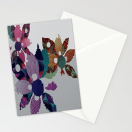 The Garland- Paper Flowers Stationery Cards