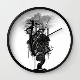DIRTY WEATHER Wall Clock