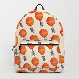 Raccoon and Balloon Backpack