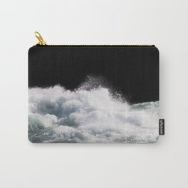 Water Photography | Wild Rapids | Waves | Ocean | Sea Minimalism Carry-All Pouch