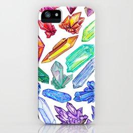 Crystal Rainbow Pride iPhone Case