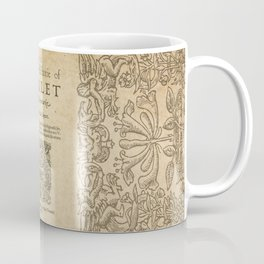 Shakespeare, Hamlet 1603 Coffee Mug
