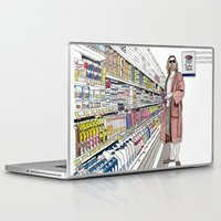 lebowski Laptop & iPad Skins featuring Jeffrey Lebowski and Milk. by DJayK