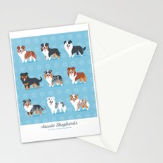 Aussie Shepherds Stationery Cards