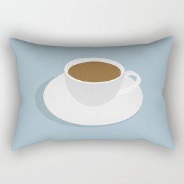 one more cup Rectangular Pillow